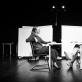 """Scena iš spektaklio """"Kandidas, arba Optimizmo mirtis"""". D. Ališausko nuotr."""