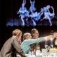 """Scena iš spektaklio """"Laimės respublikoje"""". D. Matvejevo nuotr."""