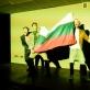 """Scena iš spektaklio """"Pasikėsinimai į jos gyvenimą"""". T. Ivanausko nuotr."""
