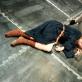 "Scena iš spektaklio ""Roberto Zucco"". OKT archyvo nuotr."