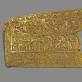 Strėlinės apmušalas. IV a. pr. Kr. Skitų kultūra. Melitopolio pilkapis, Zaporožės sr.