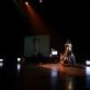 """Greta Grinevičiūtė spektaklyje """"Šokis dulkių siurbliui ir tėčiui. V. Ruzgaitės nuotr."""