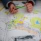 """Edukacinio projekto """"Kaleidoskopas: dizainas ir fikcija"""" akimirkos. J. Navarskaitės nuotr."""