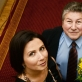 Anatolijus Šenderovas su dukra Žaneta. 2012 m. D. Matvejevo nuotr.
