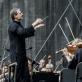 Modestas Pitrėnas, Justina Gringytė ir Lietuvos nacionalinis simfoninis orkestras. D. Matvejevo nuotr.