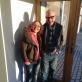 """Egidija Medekšaitė ir kompozitorius Christopheris Butterfieldas (Kanada) šiuolaikinės muzikos festivalyje """"Sound"""" Škotijoje. Asmeninio archyvo nuotr."""