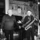 Viačeslavas Ganelinas, Vladimiras Čekasinas ir Vladimiras Tarasovas. D. Klovienės nuotr.