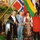 Giedrė Kaukaitė Tarptautiniame sakralinės muzikos festivalyje Norvegijoje, Kristiansando katedroje, 1990 gegužė. Asmeninio archyvo nuotr.