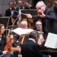 """Alexander Paley, Gintaras Rinkevičius ir Valstybinis simfoninis orkestras. M. Ambrazo nuotr., """"Lietuvos rytas"""""""