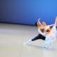 "Pas de deux iš baleto ""Žizel"". Šoka Rūta Karvelytė ir Deividas Dulka. O. Steponkienės nuotr."