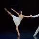 """Neringa Česaitytė (Džuljeta) ir Kipras Chlebinskas (Romeo) balete """"Romeo ir Džuljeta"""". M. Aleksos nuotr."""