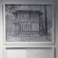 """Danas Aleksa, """"Iš...ti langai"""", parodos fragmentas: """"Pastato eksterjeras, Rukeliškių g. 8"""" ir """"Dalis lango, Strazdelio g. 3"""". 2016 m. A. Narušytės nuotr."""