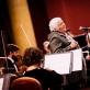 Veronika Povilionienė, Modestas Barkauskas ir ir Šv. Kristoforo kamerinis orkestras. R. Šeškaičio nuotr.