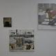"""Eglė Ulčickaitė, ekspozicijos fragmentas (""""Laiko koliažas"""", 2014 m., """"Kolona"""", 2014 m., """"Vienaragis"""", 2015 m.). A. Narušytės nuotr."""