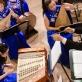 Dirigentas Zhang Lie ir orkestras. D. Klovienės nuotr.