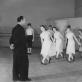 Charakterinių šokių pamoka Leningrado choreografijos mokykloje. L. Aškelovičiūtės archyvo nuotr.