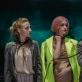 """Jolita Skukauskaitė, Justina Nemanytė ir Ligita Kondrotaitė spektaklyje """"Hotel Universalis"""". T. Povilonio nuotr."""