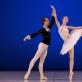 Nora StraukaitÄ— ir Jonas Bernardas Kertenis Baleto skyriaus Gala koncerte. M. Aleksos nuotr.