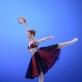 """Saulė Auglytė šoka variaciją iš baleto """"Esmeralda"""". M. Aleksos nuotr."""