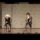 """Scena iš spektaklio """"Dvylika kėdžių"""". J. Deinato nuotr."""