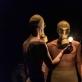 """Scena iš spektaklio """"Nykstanti ateitis"""". Tarptautinio studentų teatro festivalio """"Setkání/Encounter"""" nuotr."""