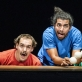 "Johannes Bauhofer, Lucas Castelo Branco ir Andrés Torres Díaz pasirodyme ""Piti Peta Hofen Show"". D. Matvejevo nuotr."