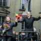 Kristian Benedikt, Modestas Pitrėnas, Justina Gringytė ir Lietuvos nacionalinis simfoninis orkestras. D. Matvejevo nuotr.