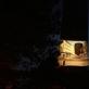 """Aurelijos Maknytės akcijos """"Keptos skaidrės"""" metu perdirbtas archyvinis vaizdas ant Nidos švyturio. 2016 m. A. Narušytės nuotr."""