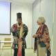 Pat Oleszko ir Virginija Idzelytė. G. Brazytės nuotr.