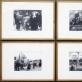 """Vytautas Stanionis, """"Demonstracija Alytuje"""" (1956 m.) ir """"Jaunimo šventė"""" (1958 m.), ekspozicijos fragmentas. A. Narušytės nuotr."""