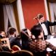 Modestas Barkauskas ir ir Šv. Kristoforo kamerinis orkestras. R. Šeškaičio nuotr.