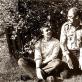Vidmantas Bartulis ir Algirdas Martinaitis. 1985 m. R. Rakausko nuotr.