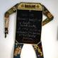 Meniu lenta, padaryta iš Vytauto Kalinausko hampelmano. A. Narušytės nuotr.