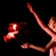 """Dalija Acin Thelander ir Noah Hellwig spektaklyje """"Paslapčių sodas"""". D. Matvejevo nuotr."""