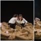 "Irene Russolillo ir Sabina Scarlat spektaklyje ""Uniforma"". D. Putino nuotr."