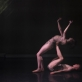 "Marta Navarro Herranz ir Benas Davisas spektaklyje ""Newborn"". E. Kovalenko nuotr."