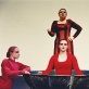 """Scena iš spektaklio """"Vaginos monologai"""". D. Matvejevo nuotr."""