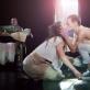 """Scena iš spektaklio """"Vasarvidis"""". D. Stankevičiaus nuotr."""