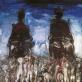 """Mindaugas Skudutis, """"Karalius ir karalienė"""", 1982 m."""