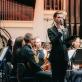 """""""Future Symphony"""" konkurso organizatorius ir vedėjas Jurgis Kubilius. J. Šopos nuotr."""