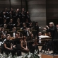 Lietuvos valstybinis simfoninis orkestras, Kauno valstybinis choras, Gintaras Rinkevičius ir solistai. G. Jauniškio nuotr.