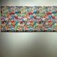 """Jean Baptiste Levée (Prancūzija), """"Lipdukų plakatas"""". 2015 m. A. Narušytės nuotr."""