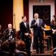 Orkestrą sveikina Izraelio ambasadorius Amir Maimon. R. Šeškaičio nuotr.