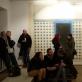 """Parodos """"Postidėja III. Plotas"""" atidarymas galerijoje """"Kairė–dešinė"""". 2014 m. A. Narušytės nuotr."""