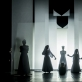 """Scena iš spektaklio """"Septynios gražuolės"""". D. Matvejevo nuotr."""