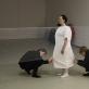 """Židrija Janušaitė kartu su Rosanda Sorakaite ir Laurynu Leonaičiu, """"Gyvenimas susideda iš tokių mažyčių vienatvių"""". 2013 m. A. Rekštytės nuotr."""