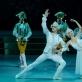 """Deividas Dulka (Princas) ir Rūta Karvelytė (Pelenė) balete """"Pelenė"""". M. Aleksos nuotr."""