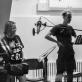 """Gelminė Glemžaitė, Laurynas Jurgelis ir Simonas Dovidauskas audioserialo """"Šiaurės miestelis"""" įrašų studijoje. J. Kulevičiūtės nuotr."""