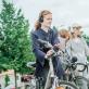 """Interaktyvus garsinis pasivaikščiojimas su dviračiais """"Sound(e)scape"""". D. Putino nuotr."""