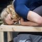 """Jolanta Dapkūnaitė ir Fausta Semionovaitė spektaklyje """"Shell-ter"""". D. Matvejevo nuotr."""
